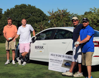The Mirak Motor Group sponsored the tournament's hole in one prize.